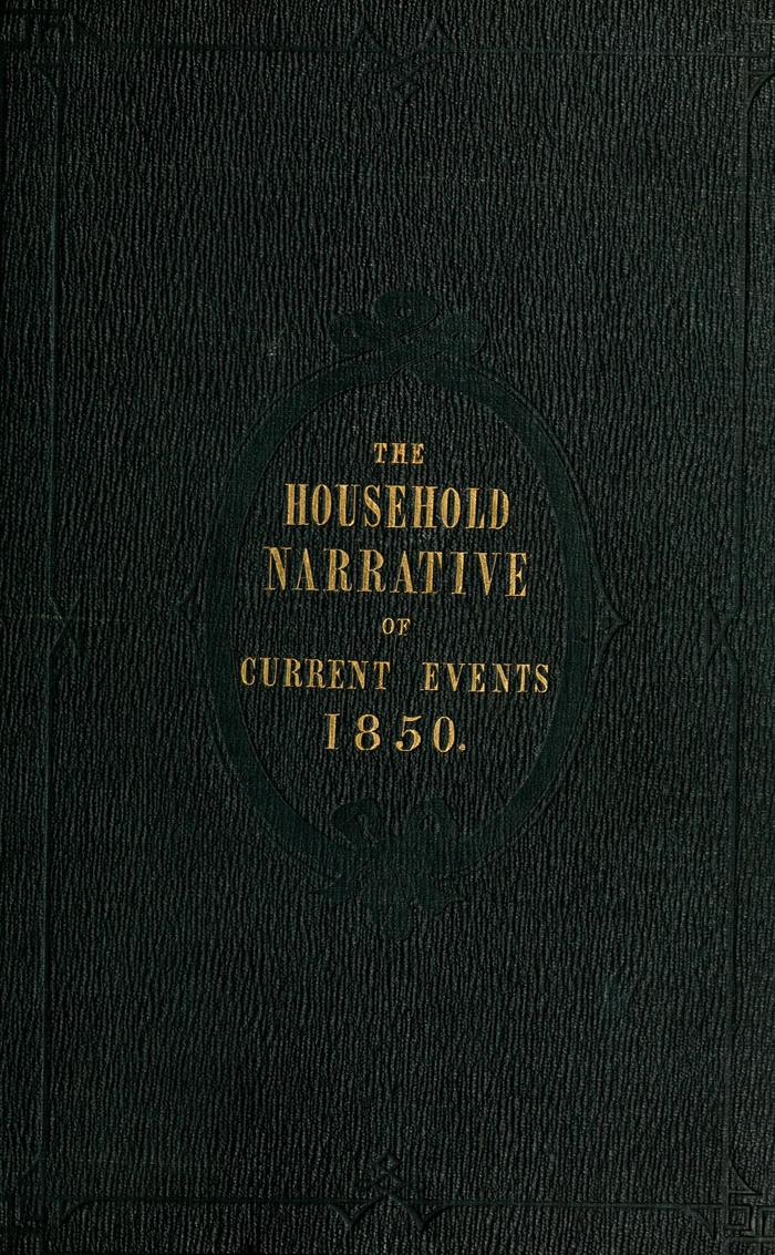 Facsimile of Household Words Narrative, Year 1850, Page I.