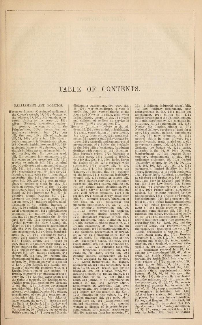 Facsimile of Household Words Narrative, Year 1854, Page VII.