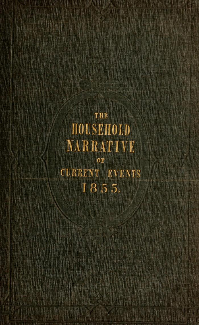 Facsimile of Household Words Narrative, Year 1855, Page I.